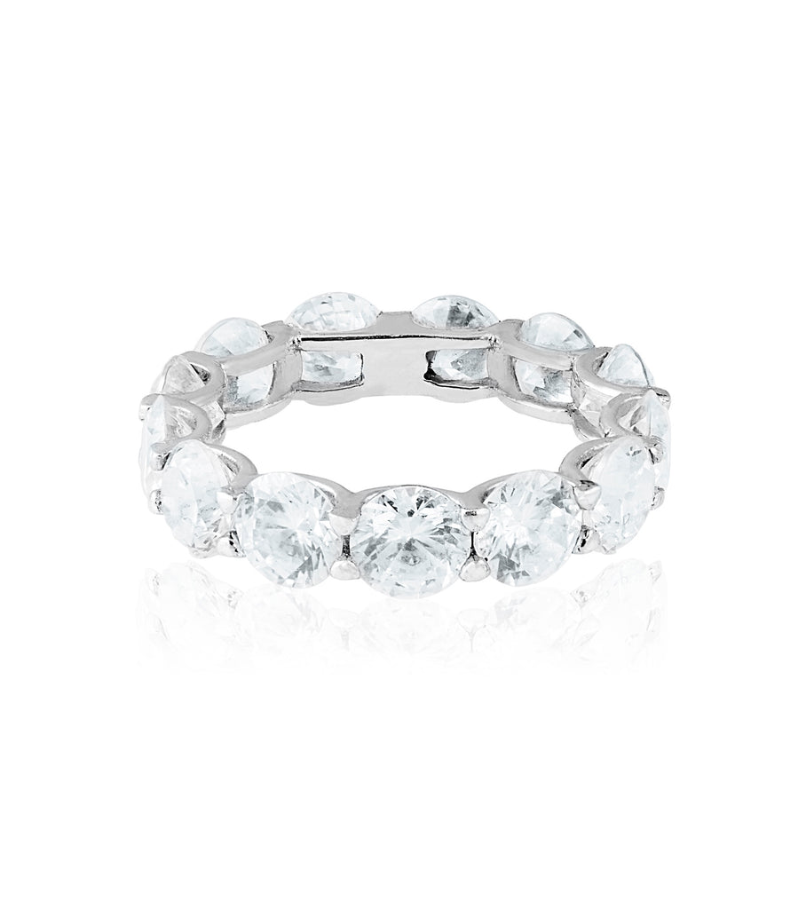 4mm CZ Eternity Ring