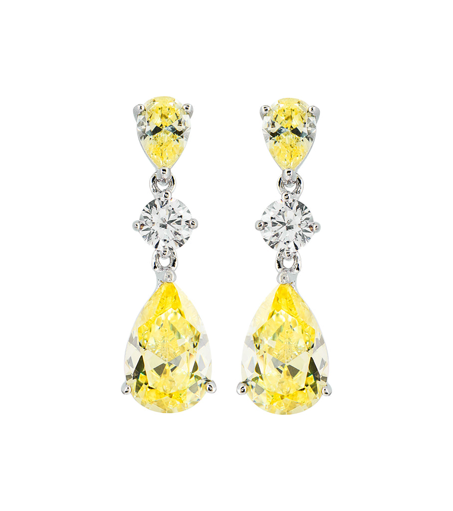 Canary Drop Earrings