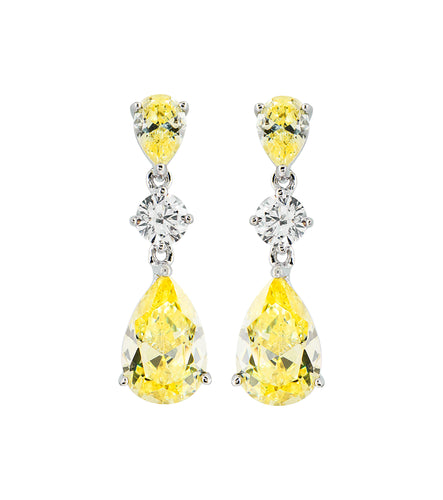 Canary Drop Earring
