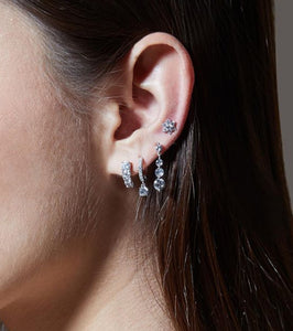 Graduated Sparkles Earrings