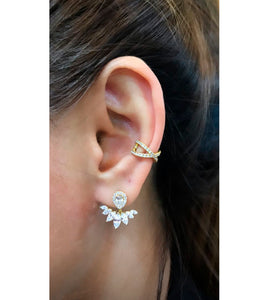 Marquise Ear Jackets