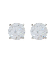 Load image into Gallery viewer, Solitaire Stud Earrings 7MM