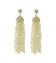 Load image into Gallery viewer, Pearl Tassel Earrings