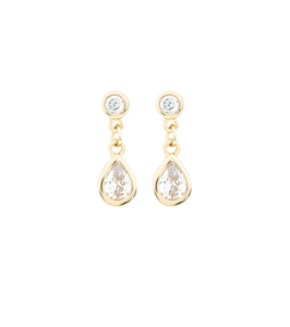 Mini Mix Teardrop Stud Earring