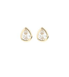 Mini Teardrop Stud Earring