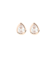 Load image into Gallery viewer, Mini Teardrop Stud Earring