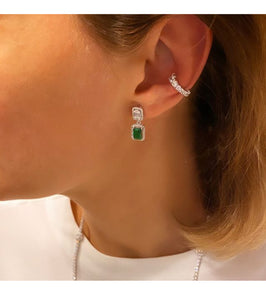 Single Row Graduated Ear Cuff