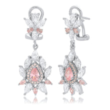 Load image into Gallery viewer, Pink Dangle Earring