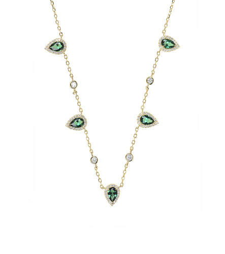 Zoe Green Necklace