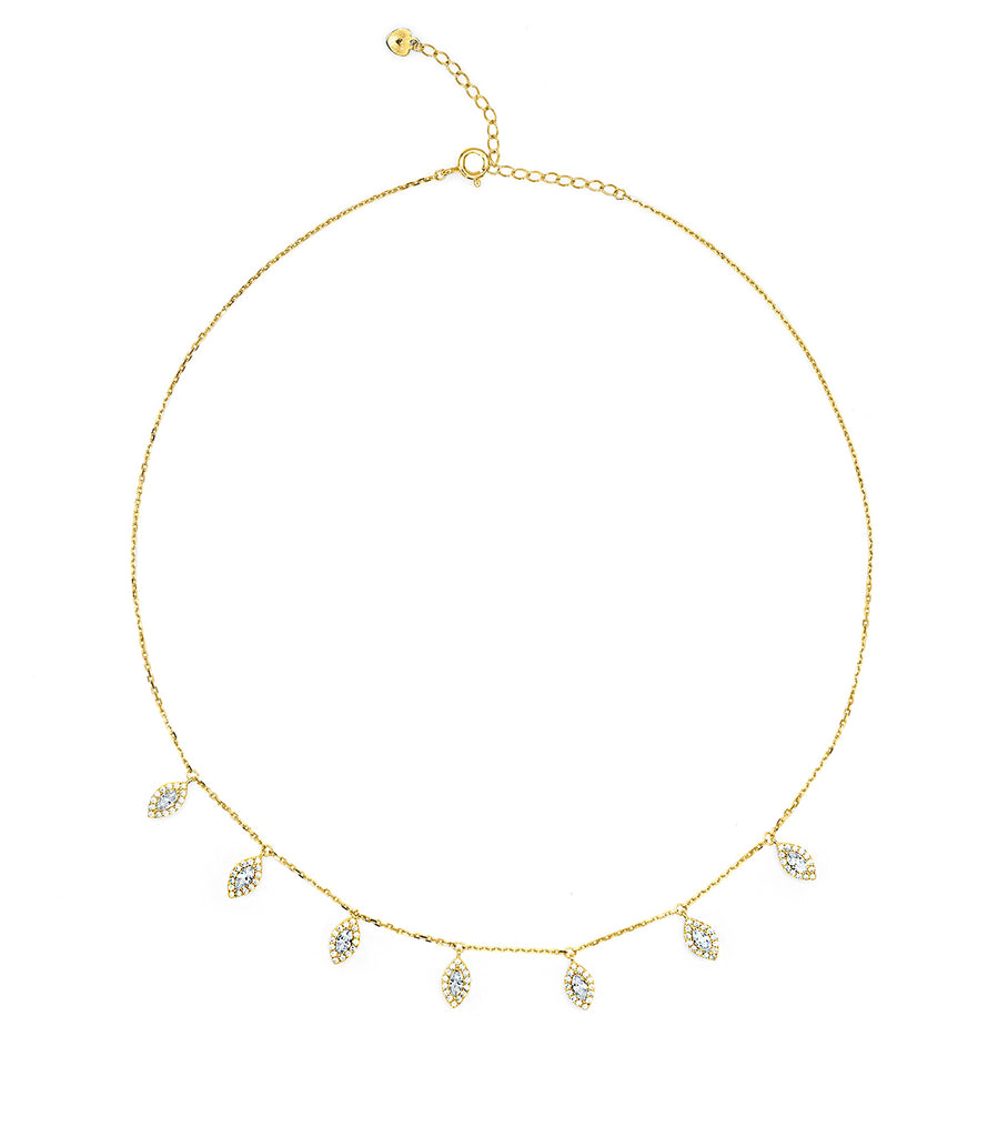 Hanging Choker Necklace