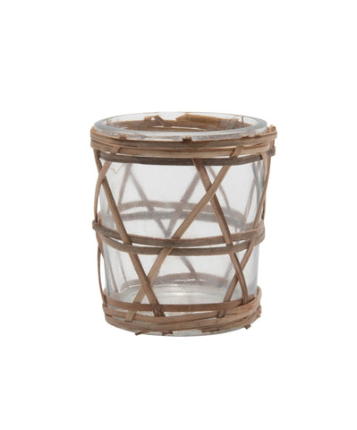 Bamboo Votive Holder