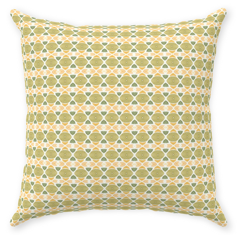 Vintage Green Pillow