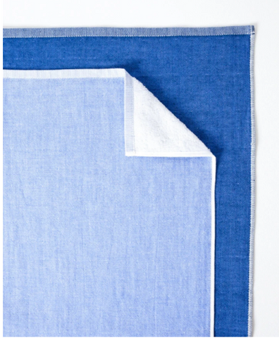 Chambray Two Tone Hand Towel