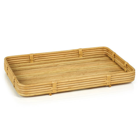 COMING SOON : Ava Rattan Tray