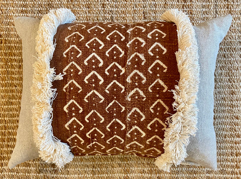 Vortex Mud Cloth Pillow