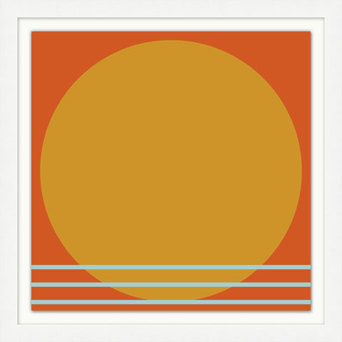 COMING SOON : Sunset Composition 1 Art
