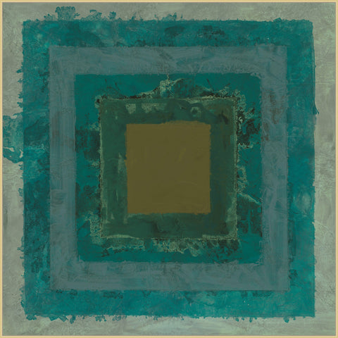 COMING SOON : Teal Squares Art
