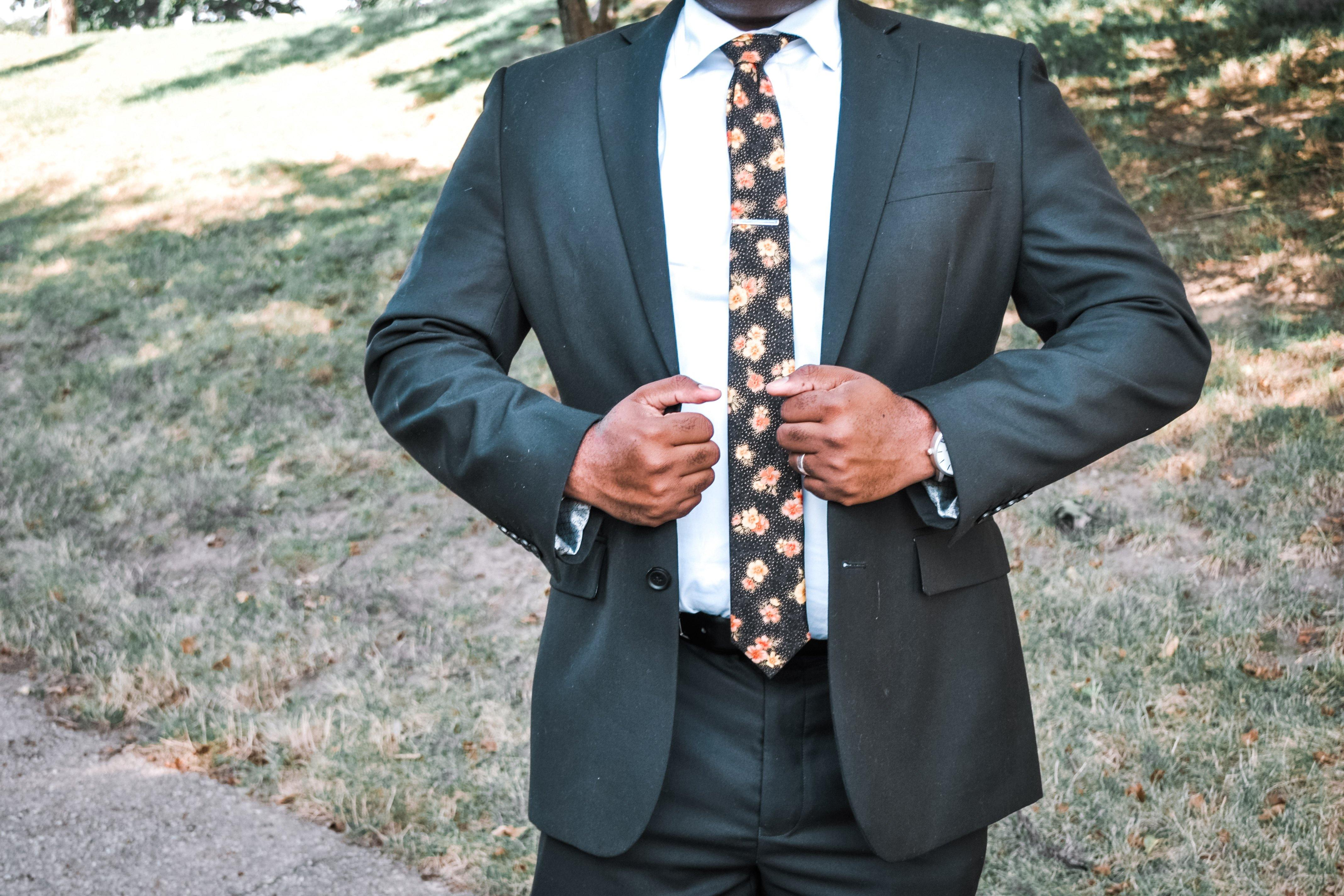 Stay Golden Tie - Momako Designs