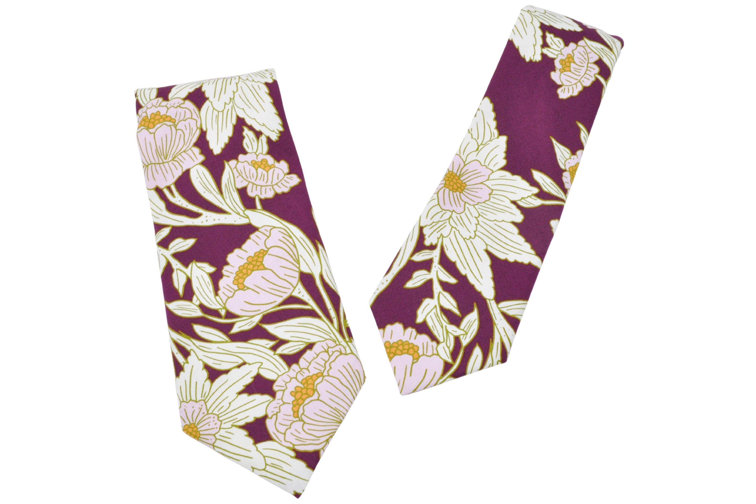 Plum Perfect Tie - Momako Designs