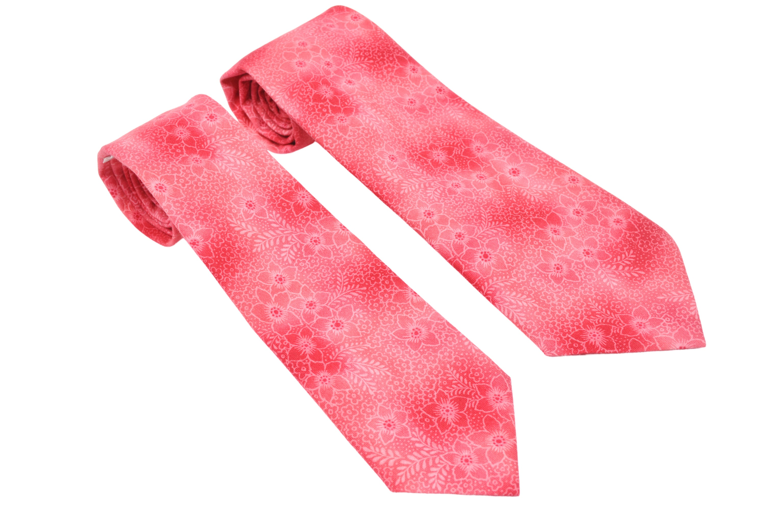 Shocking Pink Sakura Tie