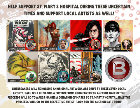 Linebreakers Supports St. Mary's Hospital