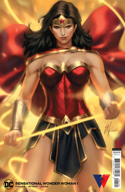SENSATIONAL WONDER WOMAN #1 CVR B EJIKURE VAR*