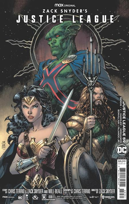 JUSTICE LEAGUE #59 CVR C JIM LEE SNYDER CUT VARIANT - Linebreakers