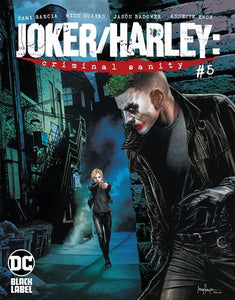 JOKER HARLEY CRIMINAL SANITY #5 (OF 9) CVR B MICO SUAYAN VAR (MR)