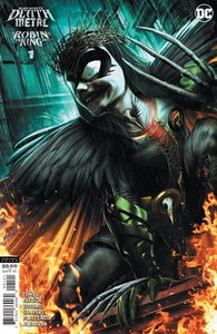 DARK NIGHTS DEATH METAL ROBIN KING #1 (ONE SHOT) INC 1:25 JEREMY ROBERTS VAR