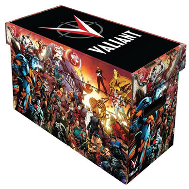VALIANT ART SHORT COMIC BOX