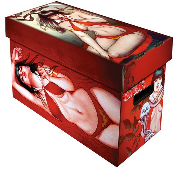VAMPIRELLA ART SHORT BOX