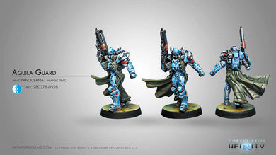 Infinity: PanOceania Aquila Guard (HMG) NEW