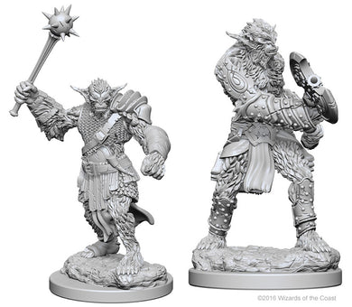 Dungeons & Dragons Nolzur`s Marvelous Unpainted Miniatures: W1 Bugbears - Linebreakers