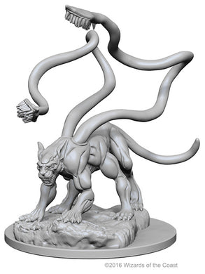 Dungeons & Dragons Nolzur`s Marvelous Unpainted Miniatures: W1 Displacer Beast