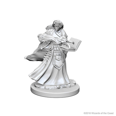 Dungeons & Dragons Nolzur`s Marvelous Unpainted Miniatures: W1 Human Female Wizard - Linebreakers