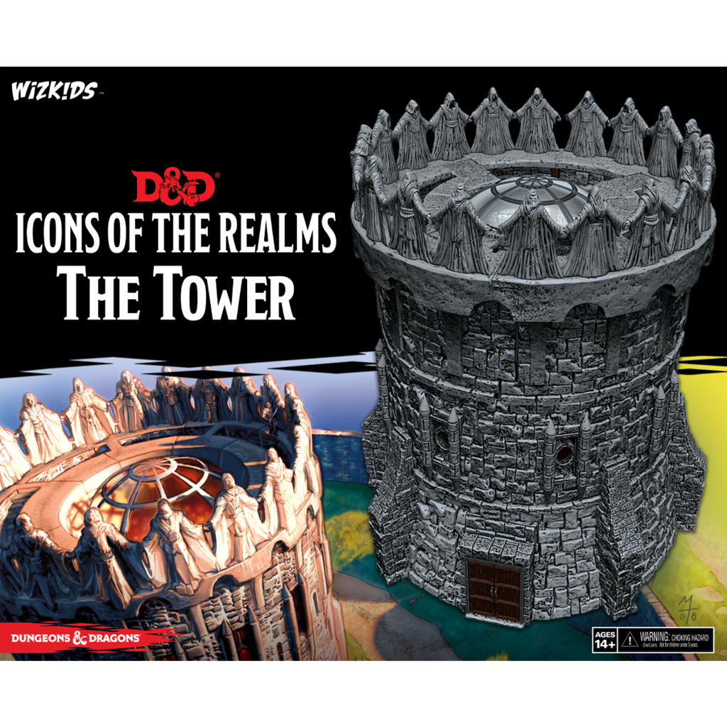 D&D ICONS REALM THE TOWER FIG (C: 0-1-2) - Linebreakers
