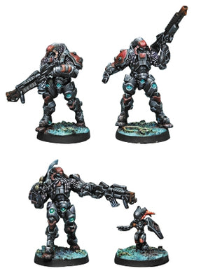 Infinity: Combined Army Suryats Assault Heavy Infantry