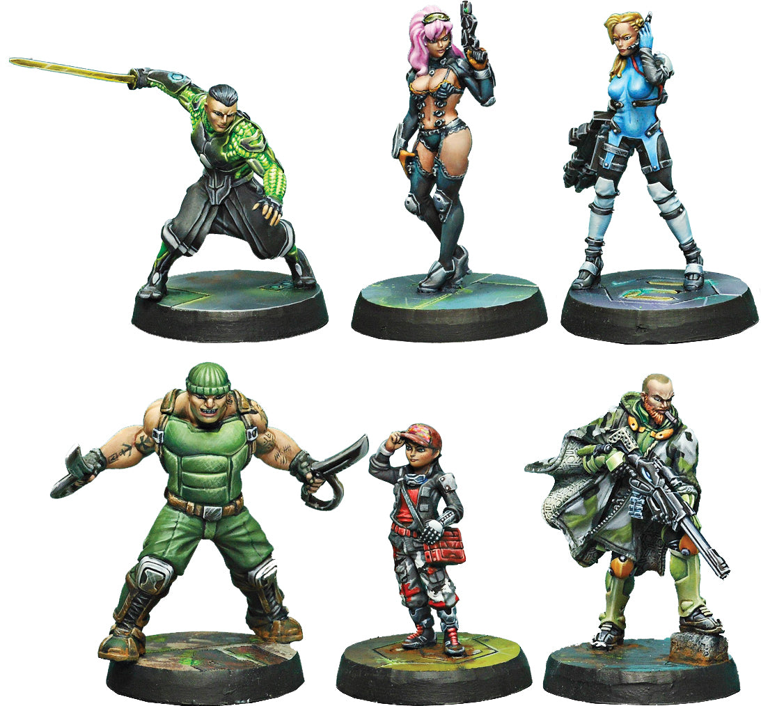 Infinity: Mercenaries Outrage Characters Pack - Linebreakers