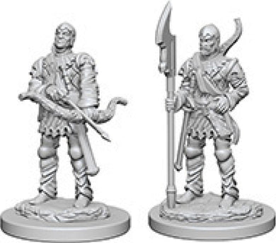 Pathfinder Deep Cuts Unpainted Miniatures: W4 Town Guards
