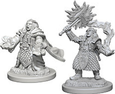 Dungeons & Dragons Nolzur`s Marvelous Unpainted Miniatures: W4 Dwarf Female Cleric - Linebreakers