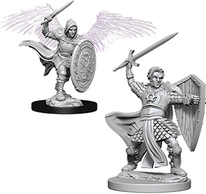 Dungeons & Dragons Nolzur`s Marvelous Unpainted Miniatures: W5 Aasimar Male Paladin