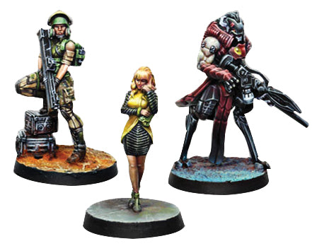 Infinity: Dire Foes Mission Pack 7 - Candy Cloud - Linebreakers