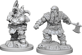 Dungeons & Dragons Nolzur`s Marvelous Unpainted Miniatures: W6 Dwarf Male Barbarian
