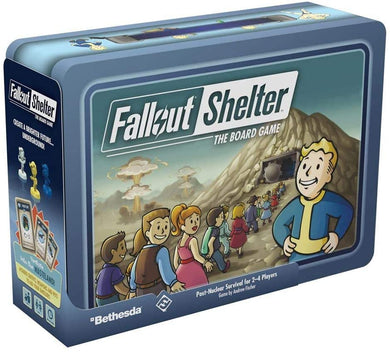 Fantasy Flight Games Fallout Shelter The Board Game, Various (ZX06)