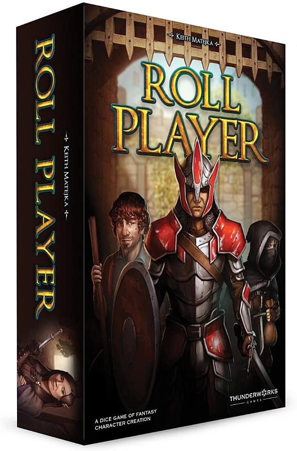 Thunderworks Games Roll Player Strategy Boxed Board Game Ages 12 & Up - Linebreakers