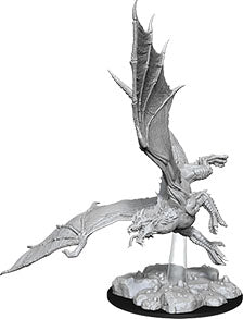 Dungeons & Dragons Nolzur`s Marvelous Unpainted Miniatures: W8 Young Green Dragon - Linebreakers