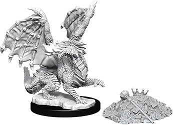 Dungeons & Dragons Nolzur`s Marvelous Unpainted Miniatures: W10 Red Dragon Wyrmling - Linebreakers