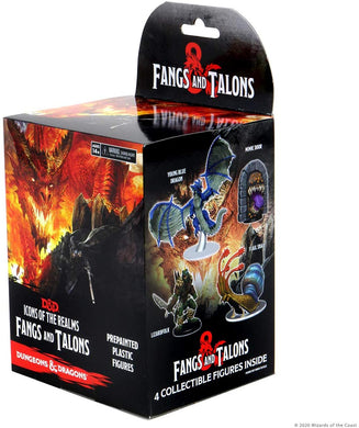 D&D Icons of The Realms Miniatures: Fangs and Talons Individual Booster - Linebreakers