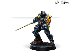 Infinity: Yu Jing Hulang Shocktroopers (Combi Rifle + Light FT) - Linebreakers