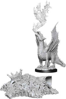Dungeons & Dragons Nolzur`s Marvelous Unpainted Miniatures: W11 Gold Dragon Wyrmling - Linebreakers